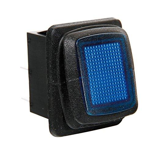 Lampa 45531 Interrupteur Étanche avec LED Bleu