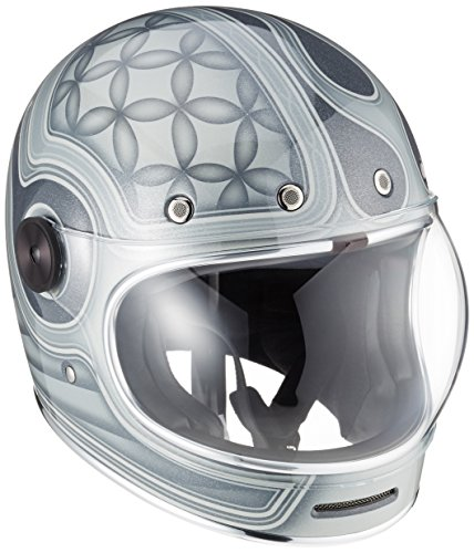 Bell Powersports Bullitt Motorradhelm, Grau (Chemical Candy Grau), M