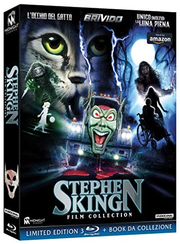 Stephen King Film Collection Esclusiva Amazon (3 Blu-ray) [Tiratura Limitata Numerata 1000 Copie] (Collectors Edition) (3 Blu Ray)
