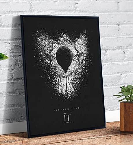 Quadro decorativo Poster Stephen King It A Coisa Filme Arte