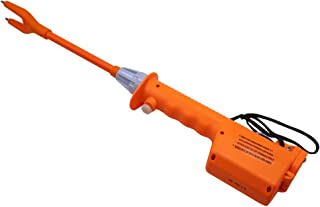 M.Z.A Livestock Prod Electric Cattle Prod Long Stock Prod Stick for Cow Pig Sheep 21.6 Inches Batteries-Operated Orange