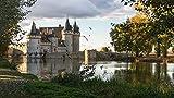 Château de Sully-Sur-Loire Loiret Francia Regalo de Rompecabezas de 1000 Piezas