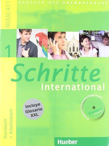 SCHRITTE INTERNATIONAL 1 KB+AB+CD+XXL (Schritte Inter ESP)