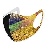 Personality Casual Fashion 3D - Filtro de protección facial para la boca