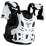 Fly Racing Youth Revel Race CE Roost Guard (White)