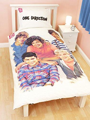 Offizielles One Direction 1D Crush Bettwäsche-Set für Einzelbett (1DCSD2)