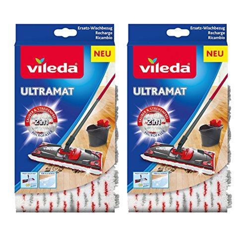 Vileda Ultramat/1-2 Spray Ersatzbezüge , Doppelpack
