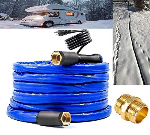 H&G lifestyles Heated Water Hose for RV 1/2' Inner Diameter 25 ft...