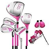 PGM Junior Golf Club Complete Set for Children Kids - 6-8 Age Groups Boys &...