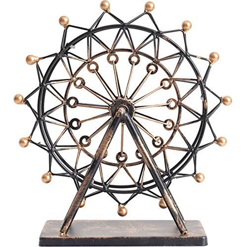 DANJIA Regalos de Boda Ferris Wheel Modelo artesanía del Hierro Creativo Inicio Sala de Estar gabinete del Vino Decoración