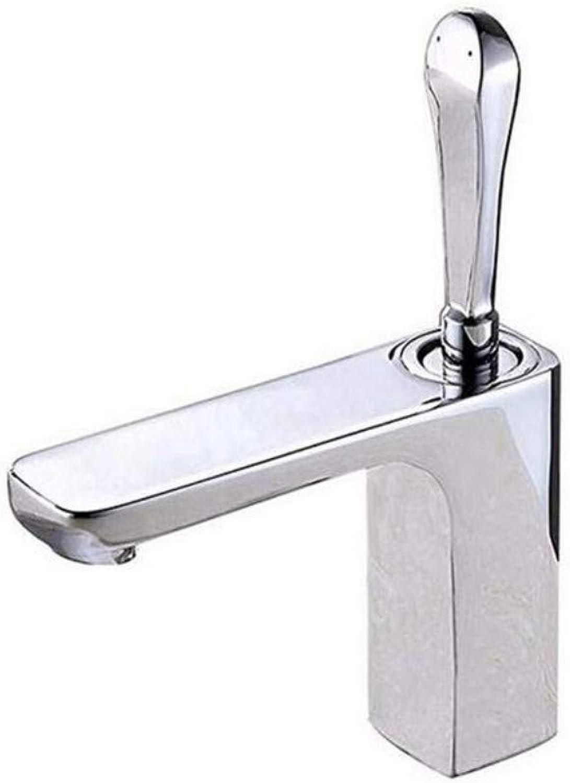 Edelstahlhahn Weie Chrombadhahnkeramik Ventilkern Küche Bad Waschbecken Wasserhahn Waschbecken