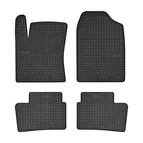 Frogum Gummi Auto Matten Fußmatten exakter Passform 4-teilig HYU-0437