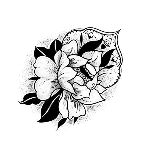 3 feuilles poignet bras tatouages temporaires pour les femmes fleur tatouage autocollants pour Fête costumée couvrant les cicatrices