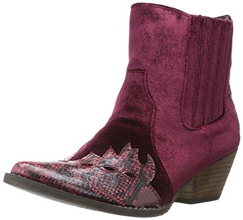 Very Volatile Women's Sava Western Boot red Size: 5 UK