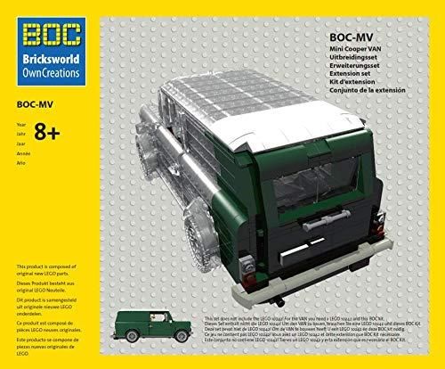 LEGO BOC-10242-MV Erweiterungsset Van Countryman Farbe Grün Zubehör/Erweiterung Mini Cooper 10242