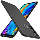 KuGi for Huawei P30 Lite Case, Scratch Resistant & Anti Slip Grippy Soft TPU Case for Huawei P30...