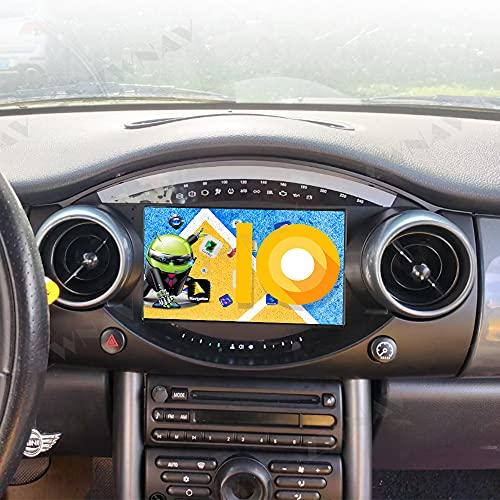 ZWNAV Android 10 Autoradio per Mini Cooper R50 2004 - 2006, unità di navigazione GPS, WiFi, Bluetooth, Carplay (6+128GB)