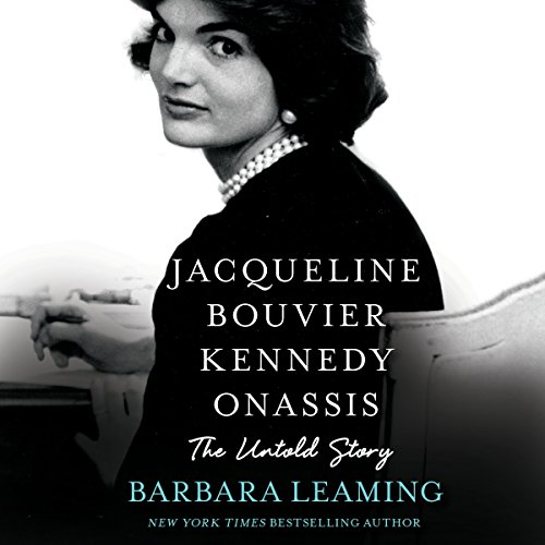 Jacqueline Bouvier Kennedy Onassis audiobook cover art
