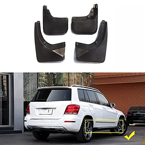 WWWFZS Apto para Mercedes Benz X204 GLK 200260300350 Guardabarros de Coche Aletas de Barro Accesorios para automóviles Guardabarros Guardabarros 2008-2018(Size:GLK with Pedal)