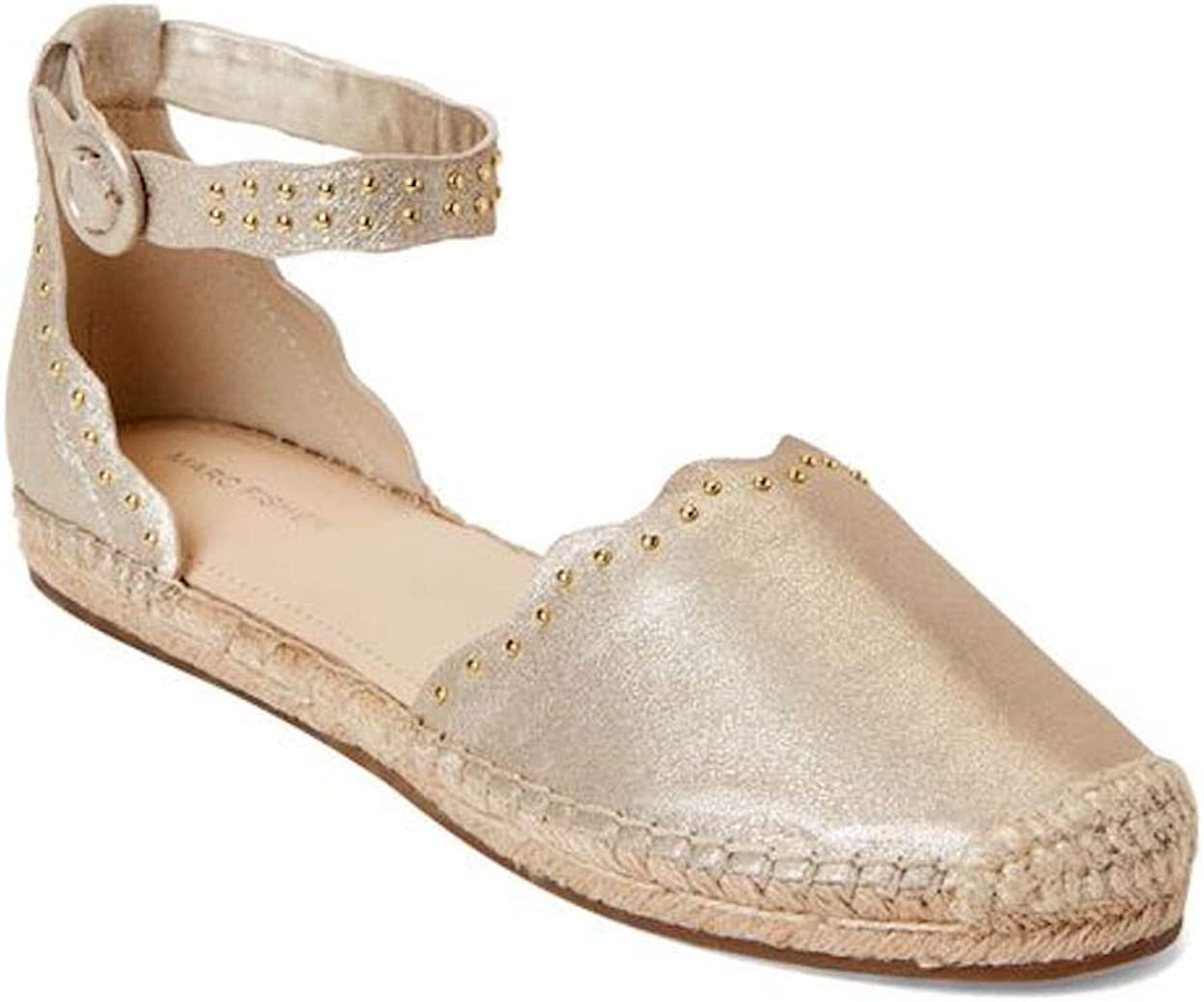 Marc Fisher Womens Jarquis Cap Toe Casual Ankle Strap Sandals
