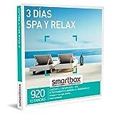 Smartbox - Caja Regalo Amor para Parejas - 3 días SPA y Relax - Ideas Regalos Originales - 2 Noches con Desayuno y Acceso SPA, Tratamiento o bañera de hidromasaje para 2 Personas