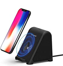 $52 » Wireless Charger with Portable Bluetooth Speaker Dock Phone Stand with Improved USB Connector,Fast Charging for iPhone SE/...