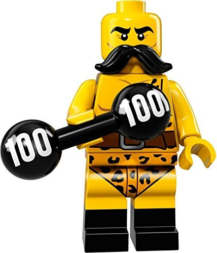 LEGO Collectible Minifigure Series 17 - Strongman (71018)
