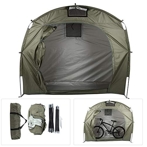 banapoy Bike Tent, Bicycle Tent, for Backyard Garden Use Camping Hiking Use(Army Green)