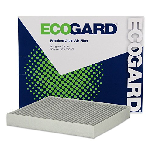 ECOGARD XC10463C Premium Cabin Air Filter with Activated Carbon Odor Eliminator Fits Audi A3 Quattro 2015-2019, A3 2015-2019, S3 2015-2019, TT Quattro 2015-2019, A3 Sportback e-tron 2016-2017