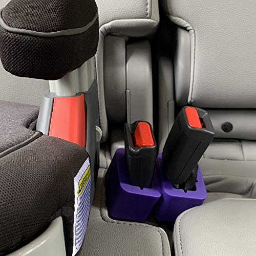 Buy Cheap BPA Free Seat Belt Buckle Booster (2-Pack) - Raises Your Buried Seat Belt Receptacles for ...