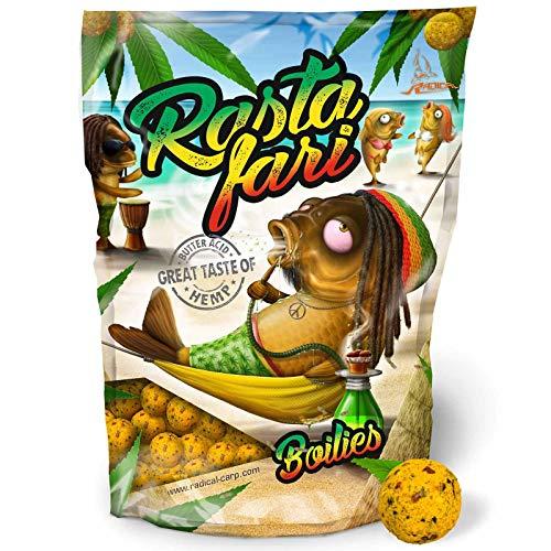 Radical Rastafari Boilie Ø20mm 1kg, 20 mm