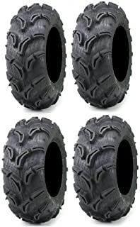 Full set of Maxxis Zilla 30x9-14 and 30x11-14 ATV Mud Tires (4)