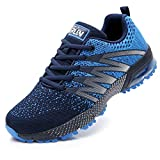 Axcone Homme Femme Air Running Baskets Chaussures Outdoor Running Gym Fitness Sport Sneakers Style Multicolore Respirante Marche Nordique - 8995 BU 42EU