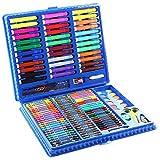 Set de lápices de acuarela Lápices de colores para niños Dibujos animados para niños Papelería Acuarela Pincel de pintura Juego de regalo Conjunto de caja de regalo ( Color : Pink , Size : Free size )