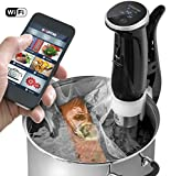 Gourmia GSV150 WiFi Sous Vide Cooker Immersion Pod - 3rd Generation - Powerful & Accurate - App…