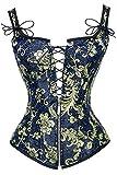 Charmian Women's Renaissance Lace Up Jacquard...