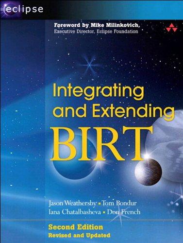 Integrating and Extending BIRT: INTEG EXTENDING BIRT _p2 (Eclipse Series) (English Edition)