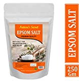 Nature's secret Pure Epsom Salt (Bathing,Relaxation,Pain Relief, Therapeutic Spa Treatment) (250)