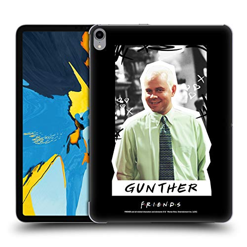 Official Friends TV Show Gunther Iconic 2 Hard Back Case Compatible for Apple iPad Pro 11 (2018)