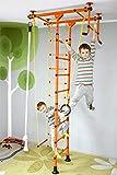 NiroSport FitTop M1 Indoor Klettergerüst für Kinder Sprossenwand für Kinderzimmer Turnwand...