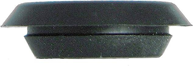 "1 1/4"" 1.25 inch Flush Mount Black Plastic Body and Sheet Metal Hole Plug Qty 10"
