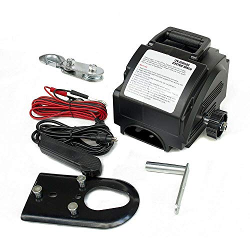 Winch eléctrico de 12 V Radio Winch Boat Cable 4990KG Cabrestante eléctrico