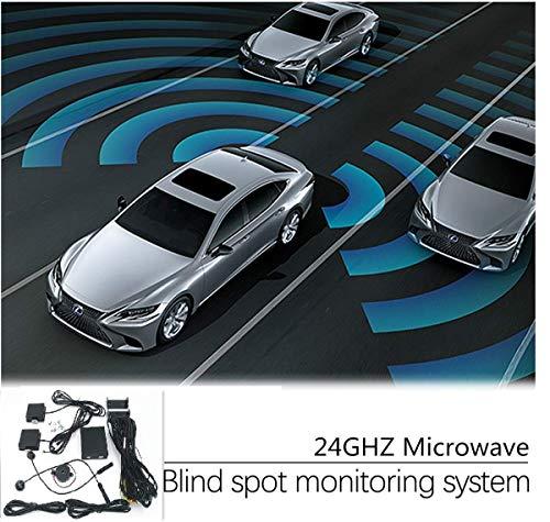 CarBest New Radar Based Blind Spot Sensor and Rear Cross Traffic Alert System, BSD, BSM, 24GHZ Microwave Radar Blind Spot Detection System