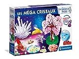 Clementoni- Science Méga Cristaux-Jeu Scientifique-Version française, fabriqué en Italie, 8 Ans et Plus, 52490, Multicolore