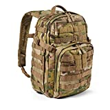 5.11 Mochila Táctica Rush 12 2.0 – Mochila Militar Molle, CCW Portación Oculta y Compartimento...