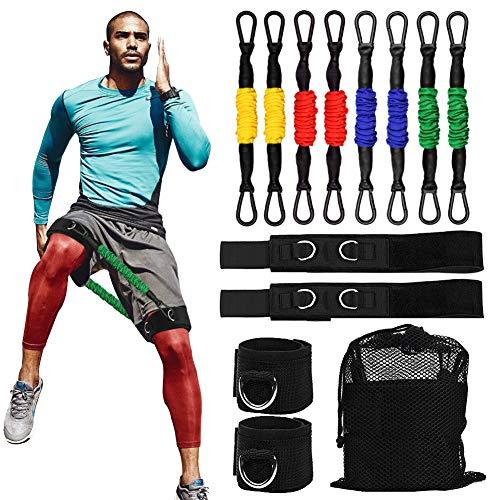 Cinghie di resistenza per gambe di velocità, velocità e agilità, per allenamento di velocità e agilità, per tutti gli sport, veloce Sprinting, esplosivo, agile, resistenza, resistenza