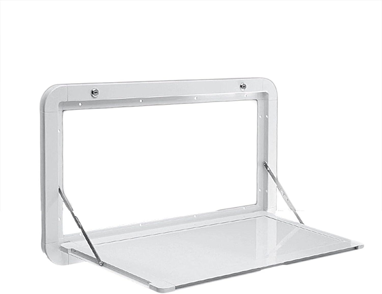 Fold New mail order Down Wall Mount Max 70% OFF Desk Maximum 55.11lb load Aluminum Fo Alloy