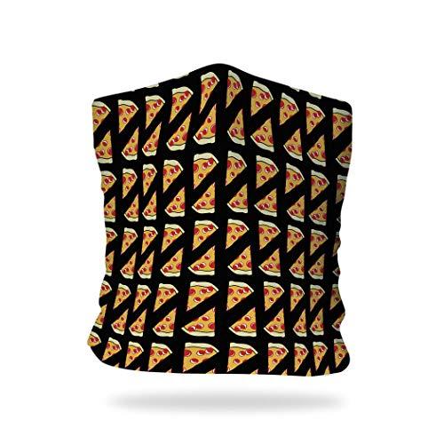 ChalkTalkSPORTS RokBAND Multi-Functional Food Themed Neck Gaiter or Headband | Pizza