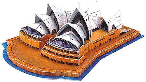 Playtastic Kinder 3D Puzzle Spiel: Faszinierendes 3D-Puzzle Opera House in Sydney, 58 Puzzle-Teile (Kinder Spielzeug)
