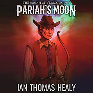 Pariah's Moon     The Pariah of Verigo, Book 1              By:                                                                                                                                 Ian Thomas Healy                               Narrated by:                                                                                                                                 Gary Roelofs                      Length: 9 hrs and 24 mins     9 ratings     Overall 3.4